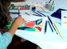 Paysages aquarellés