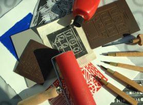 Atelier - Linogravure