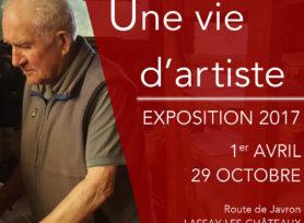 Exposition Une vie d'artiste