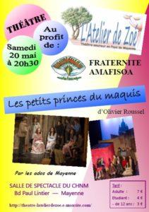 affiche fraternité amafisoa 20 mai 2017