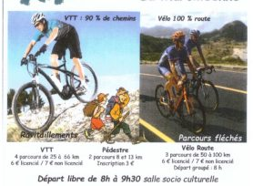 La Marcilléenne : randonnée VTT