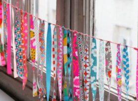 Atelier Guirlande de tissus - Dopo