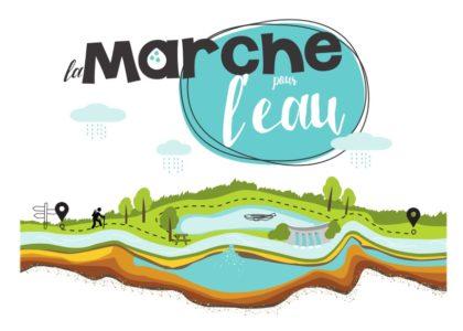 logo marche pour l'eau  + illustration def