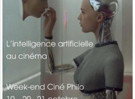 Affiche A3 Week End Cine Philo