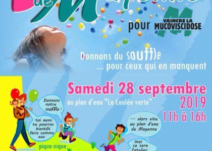 Affiche virade Mayenne 2019