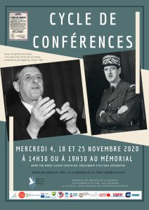 Affiche cycle De Gaulle nov 2020