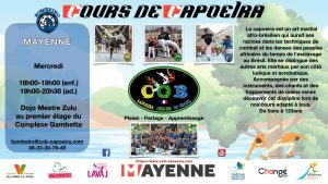 information cours capoeira mayenne