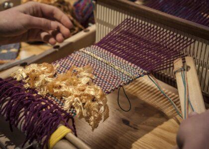 Atelier tissage Lelientissé