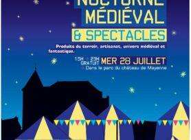 Marché Nocturne Médiéval Spectacle_28 juillet